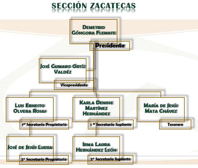 Sección Zacatecas