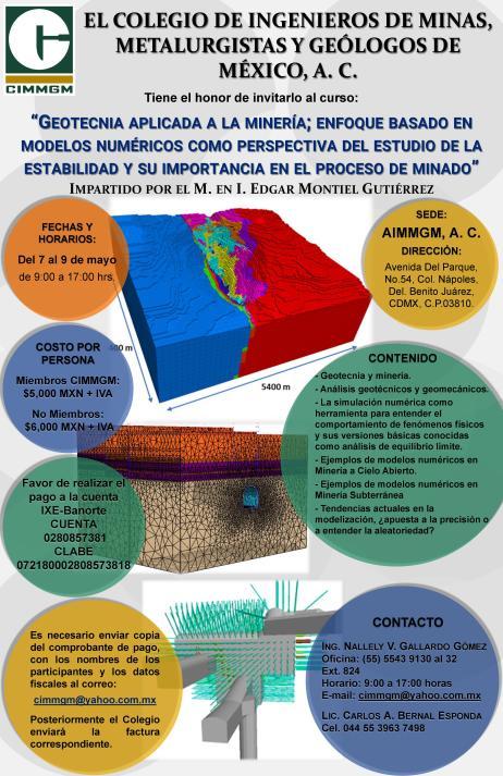 Geotecnia; Enfoque basado en modelos numéricos como perspectiva del estudio de la estabilidad y su importancia en el proceso de minado