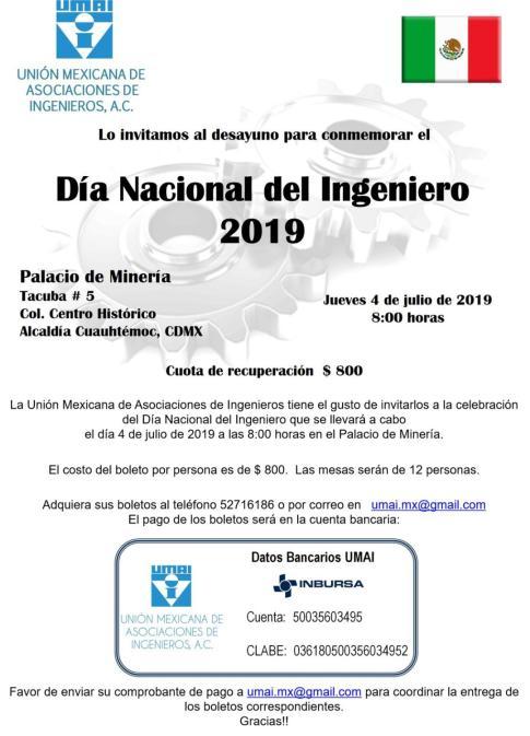 Día del Ingeniero 4 julio