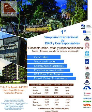 Simposio DRO y corresponsables 7 al 9 de agosto