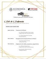 Ciclo de conferencias FIFOMI 22 agos