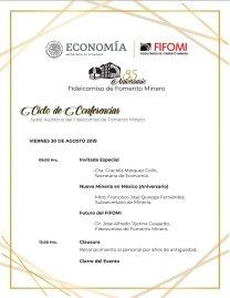 Ciclo de conferencias FIFOMI 30 agos