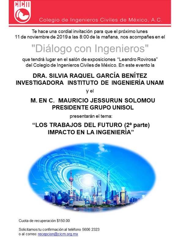 Dialogo con ing. 11 noviembre