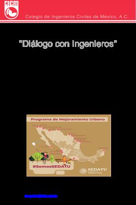 Dialogo con Ing. 20 enero